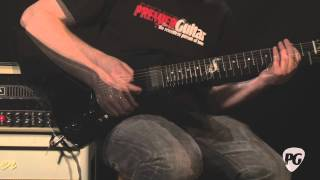 Video Review - ESP Guitars James Hetfield Snakebyte Guitar