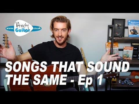 Songs that sound basically the same - Ep 1 Wonderwall