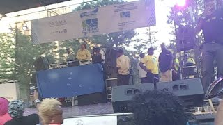 Lincoln Park Music Festival with Joe clausell