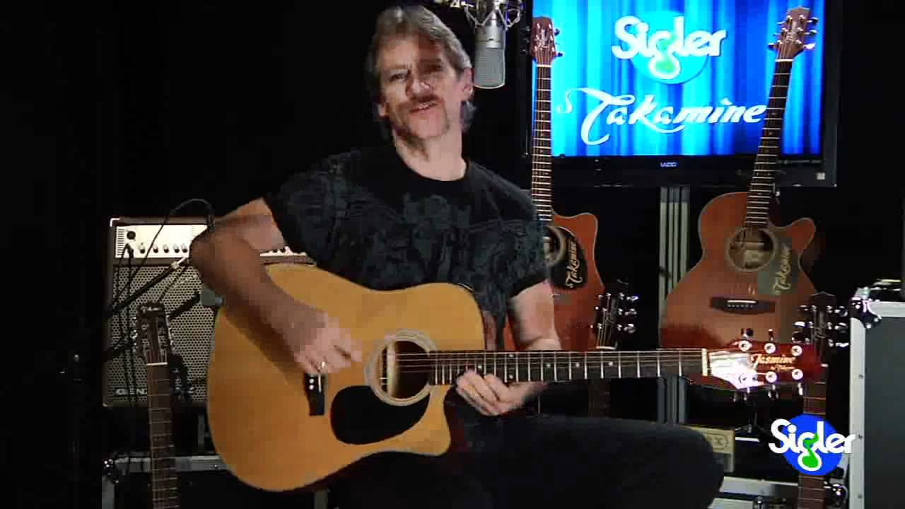 Jasmine By Takamine Es33c Acoustic Guitar Youtube