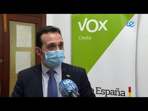 """Vox lamenta que el PP haya entregado """"parte de la gobernabilidad de Ceuta al PSOE"""""""
