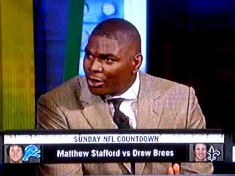 Keyshawn talks about Calvin Johnson getting off