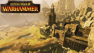 BATTLE OF HELM'S DEEP! LORD OF THE RINGS: TOTAL WAR WARHAMMER GAMEPLAY!