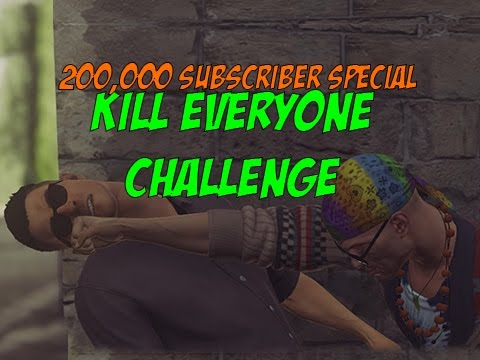 200,000 Special Professional Kill Everyone Challenge! - Hitman