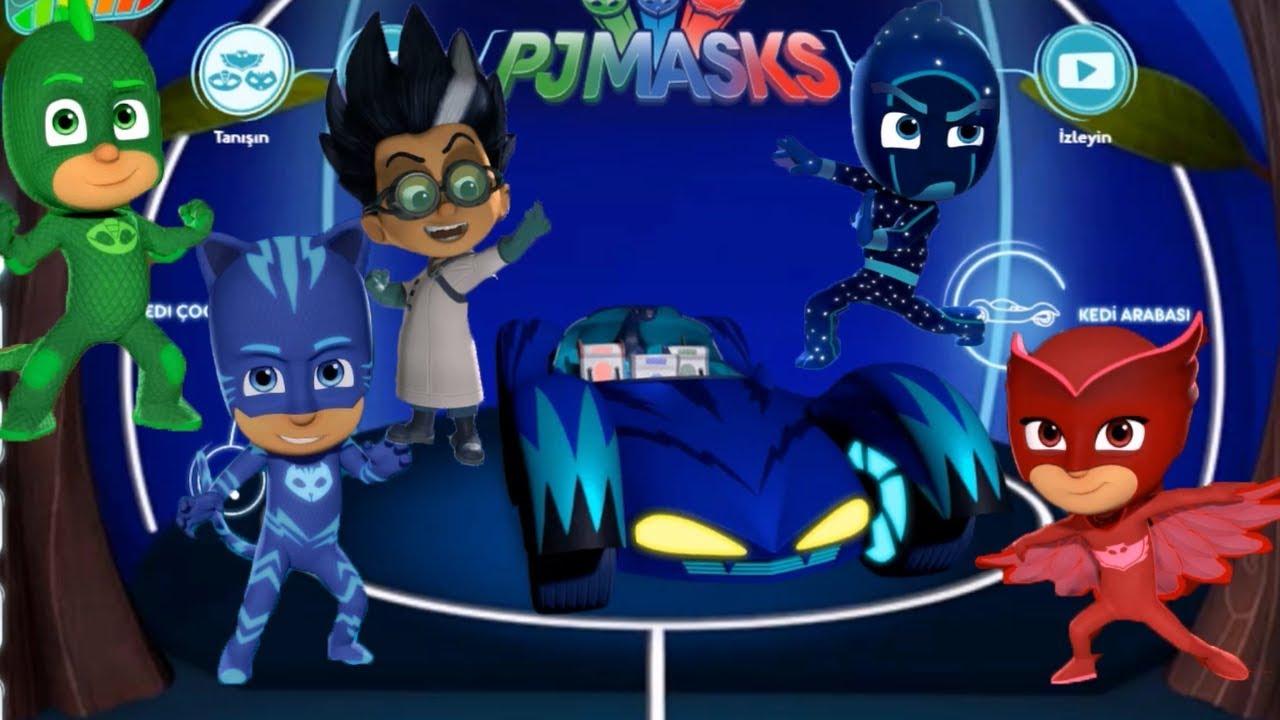 Pijamaskelileri Tanıyalım Pj Masks Cartoon Çizgi Film Son Bölüm Pijamaskeliler Learn colors