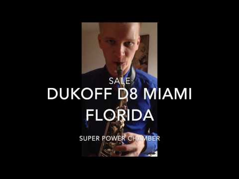 Sale mouthpiece Dukoff D8 Super Power Chamber Miami Florida