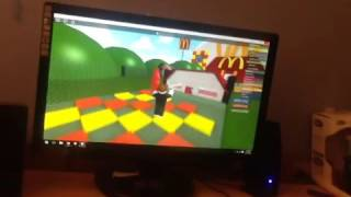 ROBLOX. GOT PAST TWO OBSTACLES.
