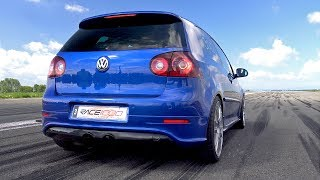 650HP Volkswagen Golf 5 R32 1/2 Mile @ 259,17 Km/h