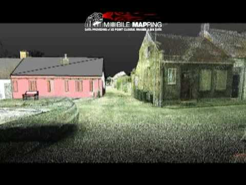 Teccon Mobile Mapping LIDAR Coloured Pointcloud