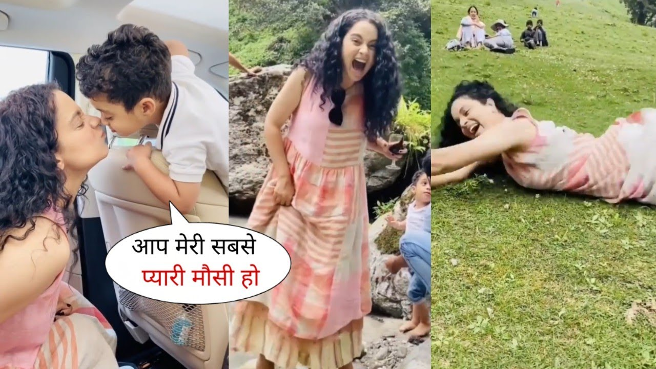 Kangana Ranaut Enjoyment and Relax with Family and Friends on a Picnic | Organize by Her
