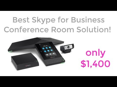 Best Skype for Business Conference Room Solution!