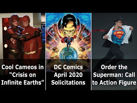 """Cool Cameos In """"Crisis On Infinite Earths"""" Finale - Speeding Bulletin (January 15-21, 2020)"""