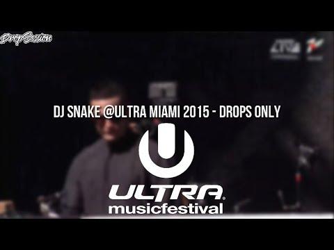 DJ Snake @Ultra Miami 2015 - Drops Only