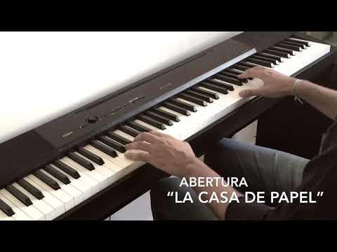 """Abertura """"La Casa De Papel"""" Piano Cover (My Life Is Going On - Cecilia Krull)"""