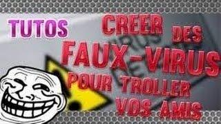 TuTo– Faux virus en .bat .vbs »FR/HD 2014