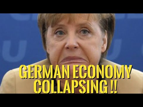 👉The German Economy On The Verge Of Collapse -- The Whole EU Project Is Crumbling !!