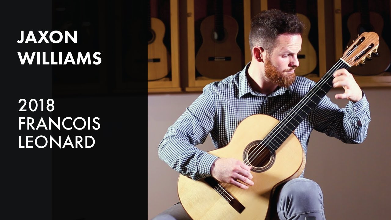 Francois Illas New Tradition: Jaxon WIlliams Plays 2018 Francois