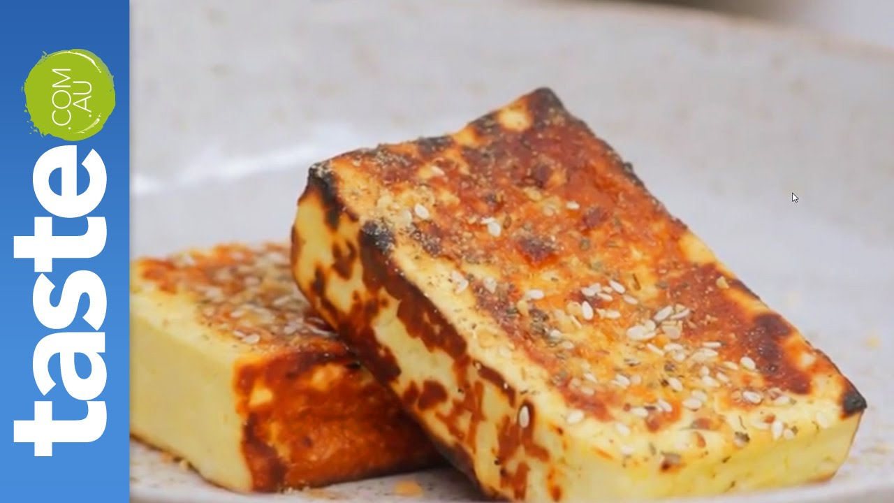 how to cook halloumi grill