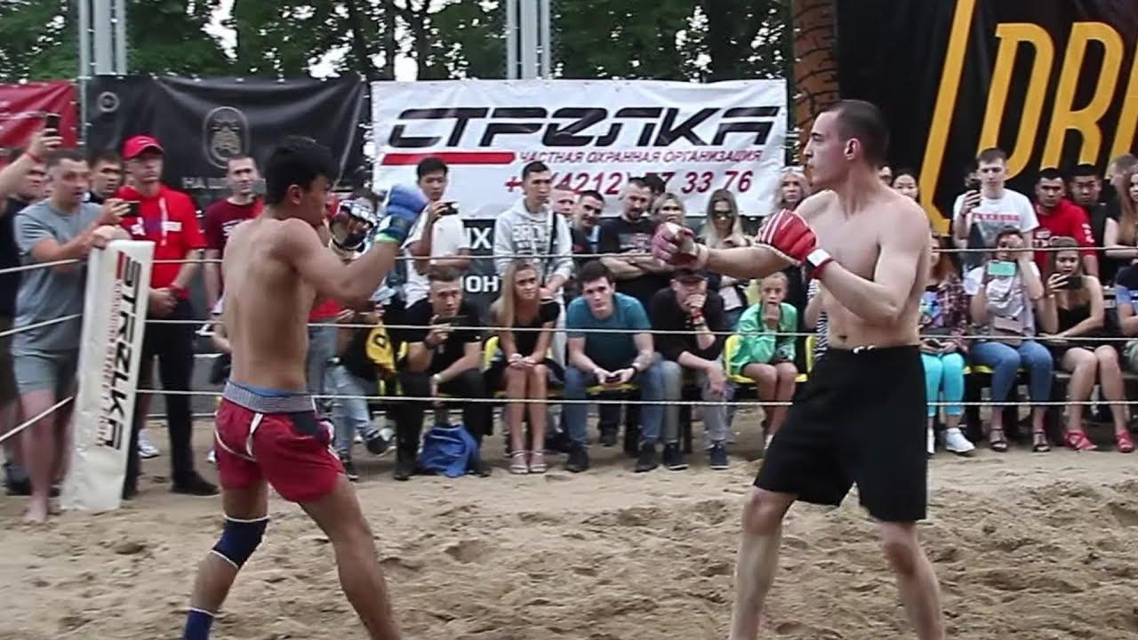ТАДЖИК РУКОПАШНИК против третьего бойца подряд