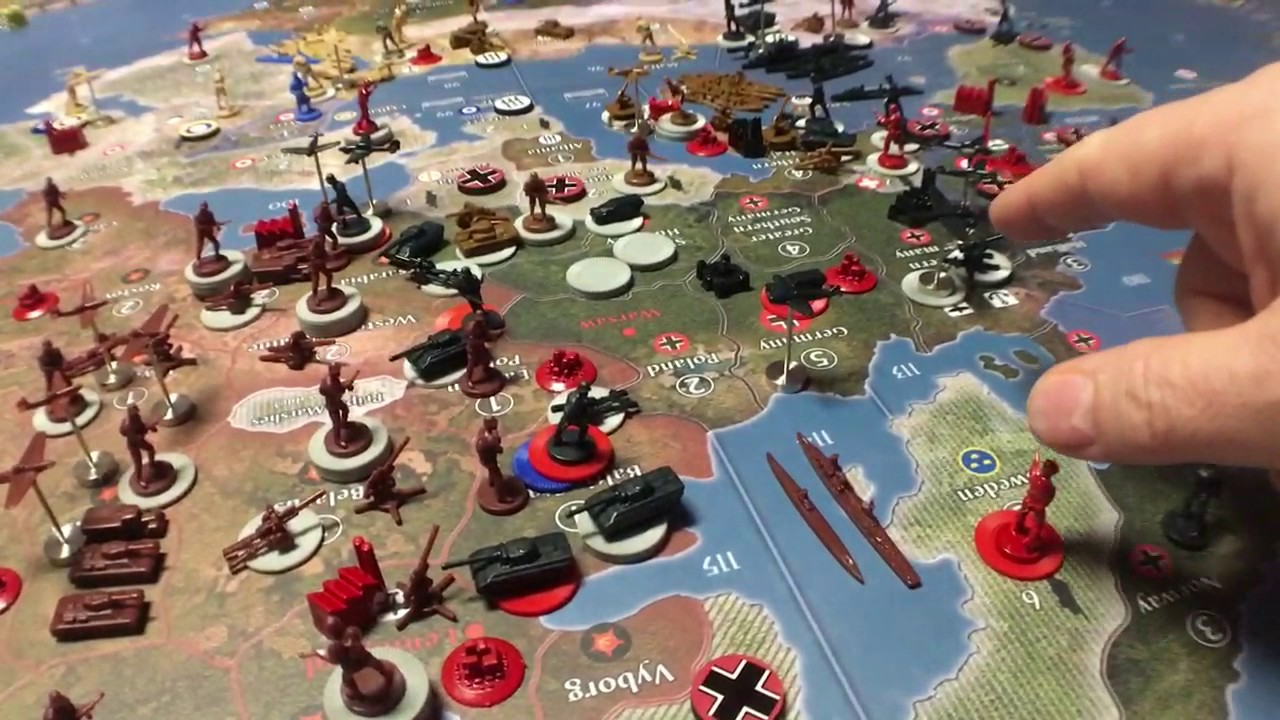 axis and allies  Axis & Allies Global 1940/Russia Strategy - YouTube