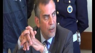 Locride: un arresto per estorsione aggravata - CONFERENZA STAMPA POLIZIA