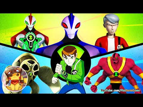 Ben 10 Ultimate Alien Cosmic Destruction - Full Movie Game Walkthrough [1080p] No Commentary