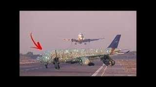 شاهد حقيقة الطائرة الاماراتية التى ظهرت فى مطار دبى تشعل مواقع التواصل الاجتماعى! شاهد المفاجأة