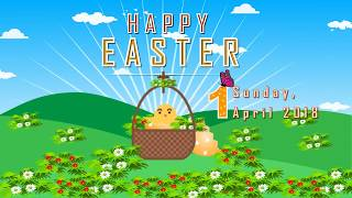 Happy Easter Day 2018 Greeting,Blessings,Happy Easter Day Whatsapp video Download