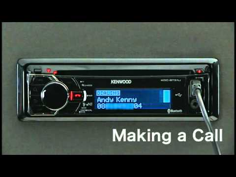 kenwood kdc x595 bluetooth kenwood and excelon kdc bt848u kdc 448u kdc x895 and kdc x595 making a call via built in bluetooth duration 45 total views 5 850