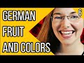 Colours and Fruit  German Vocabulary  Deutsch Fr Euch 6