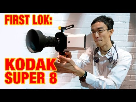CES 2017: First Lok – Kodak Super 8 Camera