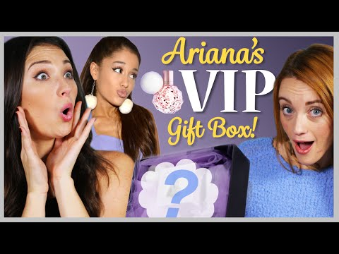 Ariana Grande Perfume VIP Gift Unboxing (EXCLUSIVE) ft. MadMoni