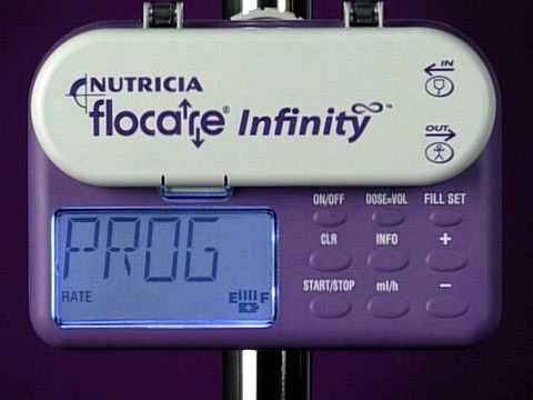 Flocare Infinity Enteral Feeding Pump - Alarms