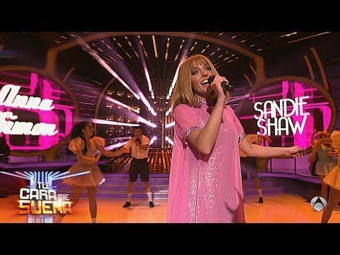 Anna Simon es Sandie Shaw - TCMS2   Gala 9 Eurovisión