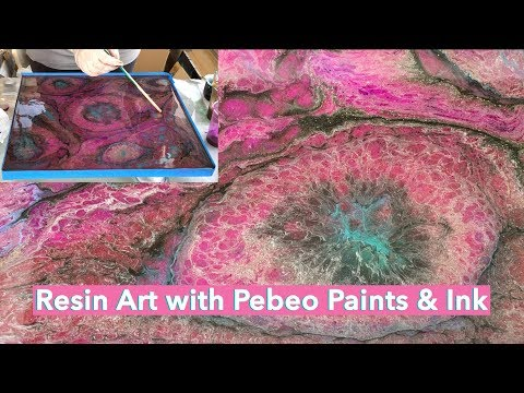 Resin Art with Pebeo Paints and Ink / Arijana Lukic #12