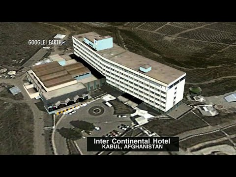 Attack on the Intercontinental hotel in Kabul, Afghanistan