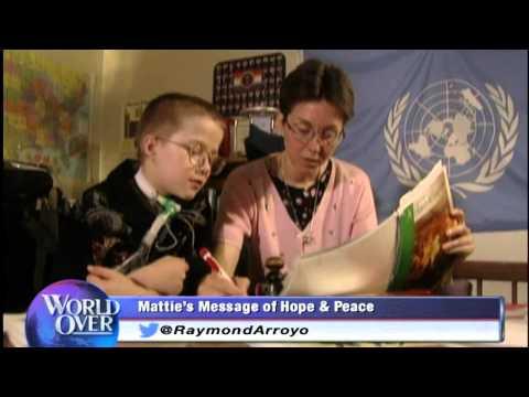 World Over - 2014-06-19 -- Mattie Stepanek 10 years later, Jeni Stepanek with Raymond Arroyo