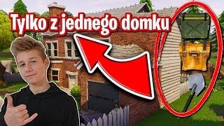 LOOT Z JEDNEGO DOMKU - CHALLENGE FORTNITE