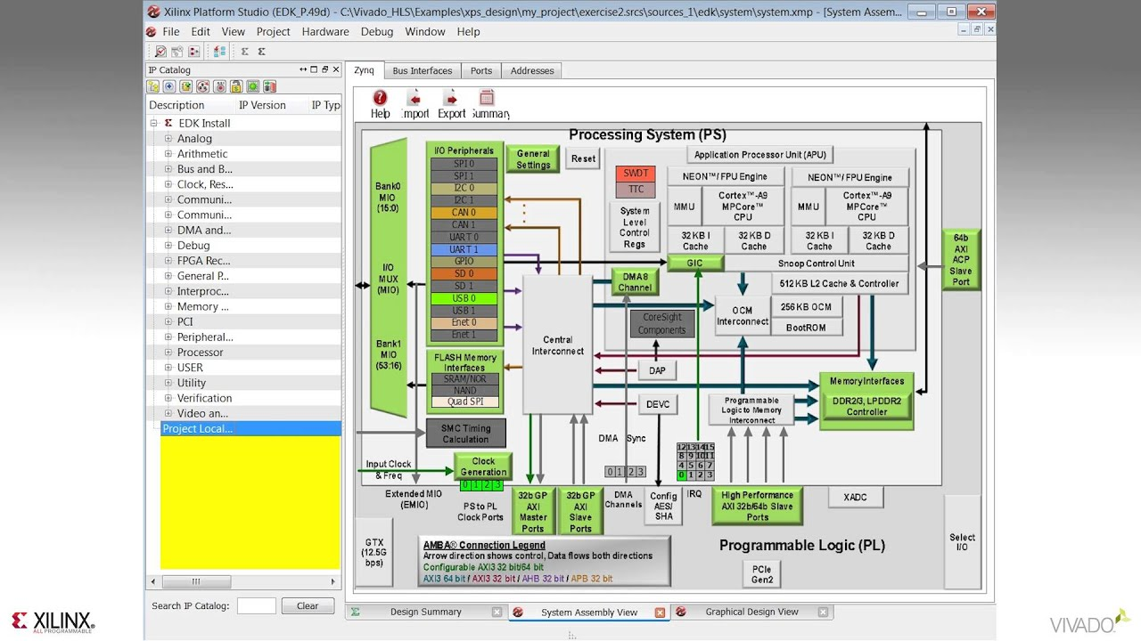 Vivado hls systemc example
