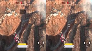 Star Wars Battlefront VR : Beggars Canyon Using Head Tracking to take down TIES 1080p SBS 3D
