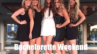 My First Vlog: BACHELORETTE PARTY!