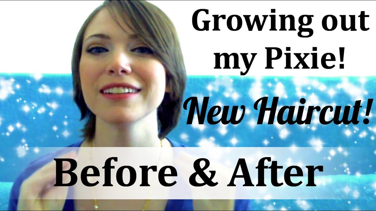 Growing Out My Pixie Cut Update New In Between Hair Before And