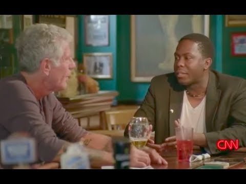 CNN Anthony Bourdain Parts Unknown at Historic Neirs Tavern with Loycent Gordon
