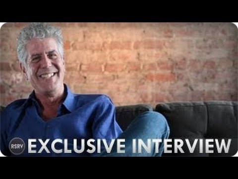 Anthony Bourdain Exclusive Interview | On The Table | Reserve Channel