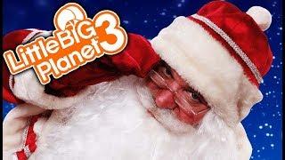 CHRISTMAS DEATHRUN!   Little Big Planet 3 Multiplayer (115)