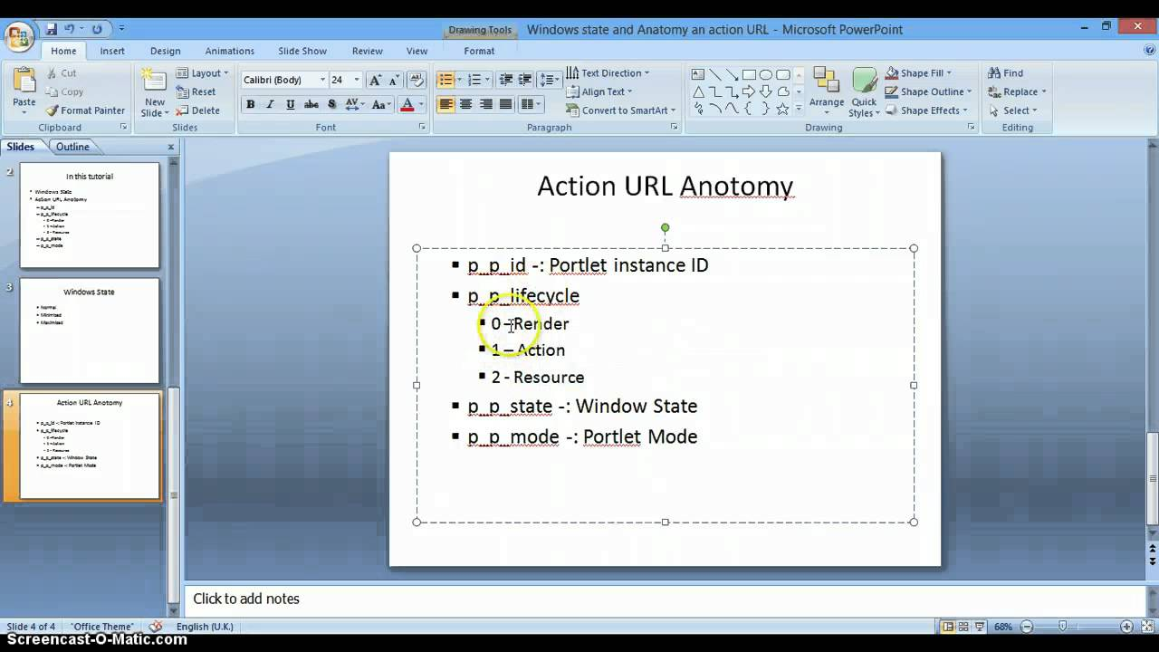 Liferay Tutorials 08 Windows State and anatomy of a porlet URL - YouTube