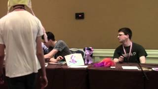 Ponies The Anthology Q&A Panel