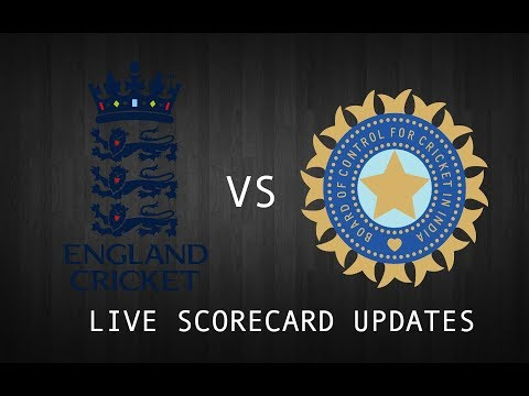 India VS England 3rd Test Day 4 Live | 3rd Test India V England live match scorecard updates