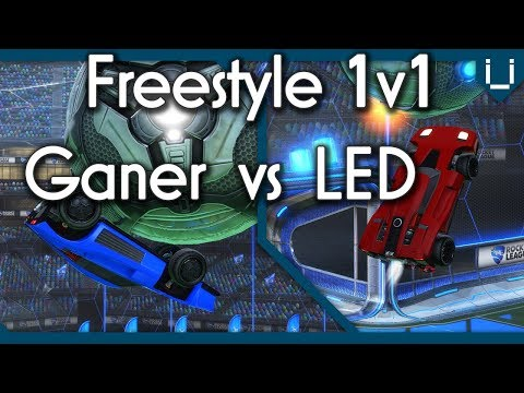 World Record Flip Resetter vs World Record Air Dribbler | Ganer & LED Freestyle 1v1