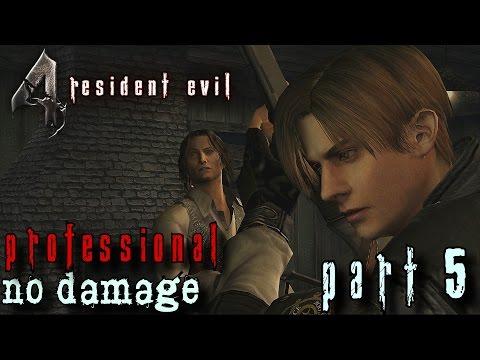 Resident Evil 4 HD Professional Walkthrough Part 5 - Leon & Luis vs. Ganados - No Damage